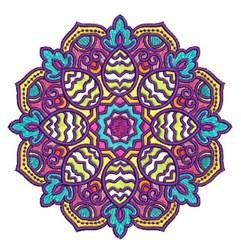 Mandala Burst embroidery design