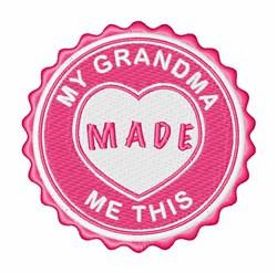 Love You, Grandma! embroidery design