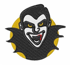 Dracula embroidery design