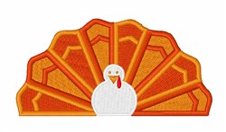 Holiday Turkey embroidery design