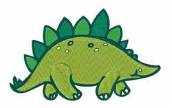 Stegosaurus embroidery design
