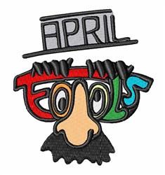 April Fools embroidery design