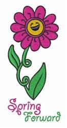 Spring Forward embroidery design