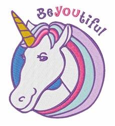 Beyoutiful embroidery design