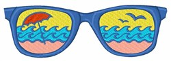 Waves In Glasses embroidery design