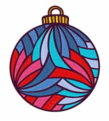 Xmas Ball embroidery design