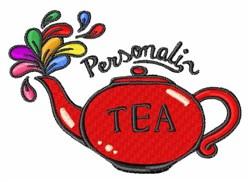 Personali Tea embroidery design