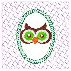 Lacy Owl Eyes embroidery design