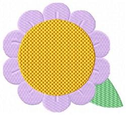 Lavender Flower embroidery design