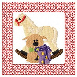 Lacy Christmas Gifts embroidery design