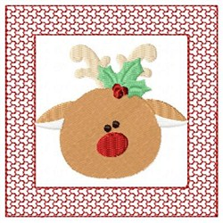 Lacy Reindeer embroidery design