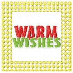 Lacy Warm Wishes embroidery design