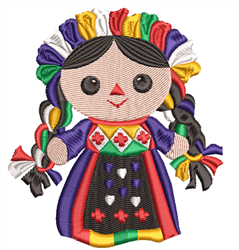 Hungarian Doll embroidery design