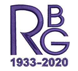 RGB 1933-2020 embroidery design