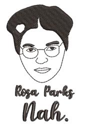 Rosa Parks Nah. embroidery design