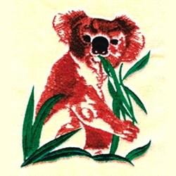 Koala Bear embroidery design