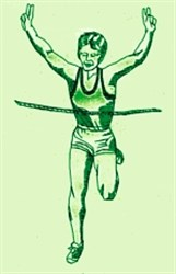 Lady Runner embroidery design