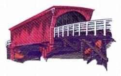 Rosemond Bridge embroidery design