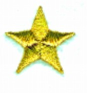 Solid Star embroidery design