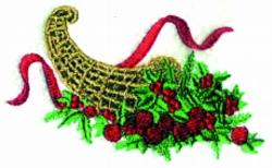 Christmas  Bounty embroidery design