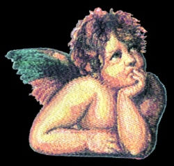 Raphael Angel embroidery design