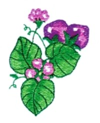 Cluster of Strawberries embroidery design