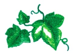 Ivy Leaves embroidery design