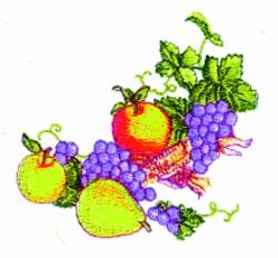 Thanksgiving Spray embroidery design