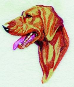Vizsla embroidery design