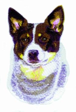 Australian Cattle Dog embroidery design