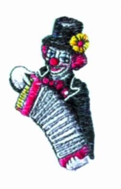 Concertina embroidery design
