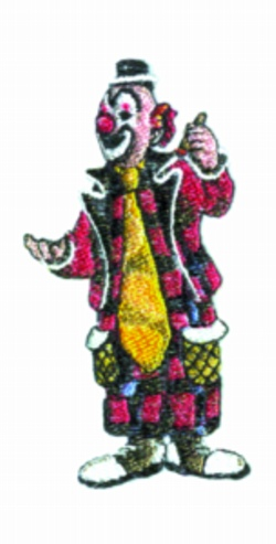 Dapper Dan embroidery design