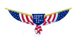 September 11 embroidery design