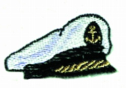 Skippers Cap embroidery design
