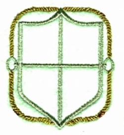 Nautical Border embroidery design