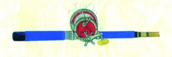 Rod & Reel embroidery design