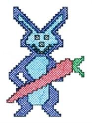 Cross Stitch Rabbit embroidery design