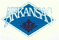 Arkansas Crest embroidery design