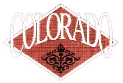 Colorado Crest embroidery design