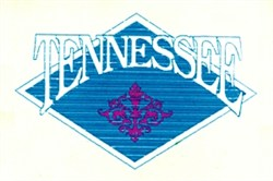 Tennessee Crest embroidery design