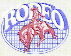 Rodeo Quilt embroidery design