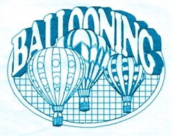 Ballooning Oval embroidery design