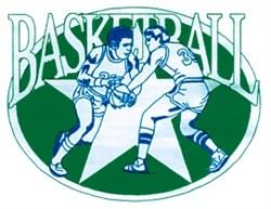 Basketball Star embroidery design
