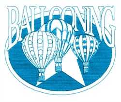 Ballooning Star embroidery design