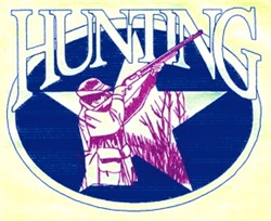 Hunting Star embroidery design