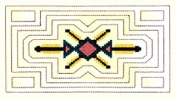 Beaded Quilt embroidery design