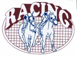 Horse Racing Quilt embroidery design