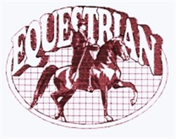 Equestrian Quilt embroidery design