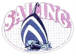 Sailing  Quilt embroidery design