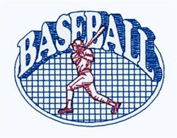 Baseball Quilt embroidery design
